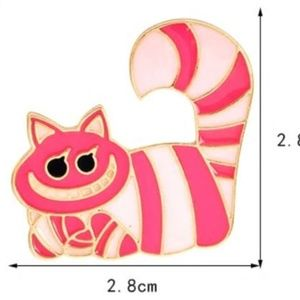 Alice in Wonderland Collection Chesire Cat Pin